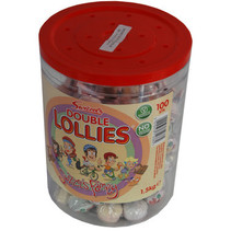 Copar - double lollies silo - 100 stuks