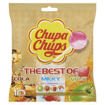 Chupa Chups Chupa Chups - Chupa Chups Best Off Zak 10St, 12 Zakken