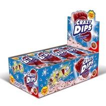 Chupa Chups - Chupa Chups Crazydips Cola, 24 Stuks