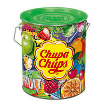 Chupa Chups - tin fruit 150st - 150 stuks