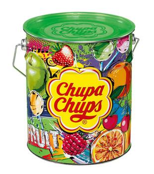 Chupa Chups Chupa Chups - tin fruit 150st - 150 stuks