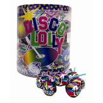 Hirschil - Disco Lollies, 100 Stuks