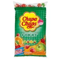 Chupa Chups - Chupa Chups Zak Fruit 100+20, 120 Stuks