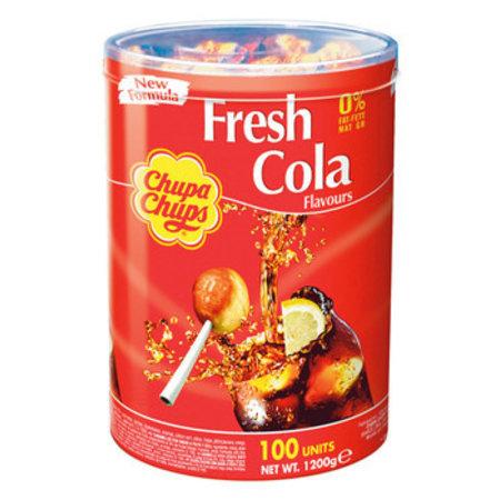 Chupa Chups Chupa Chups - Chupa Chups Silo Cola 100St, 100 Stuks