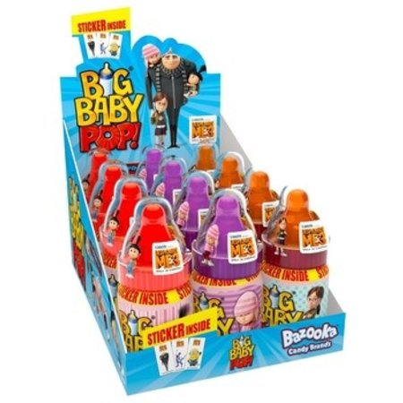 Bazooka Bazooka - big baby pop - 12 stuks
