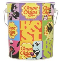 Chupa Chups - tin best of 150st - 150 stuks