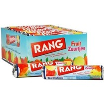 Rang - fruit zuurtjes single - 24 rollen