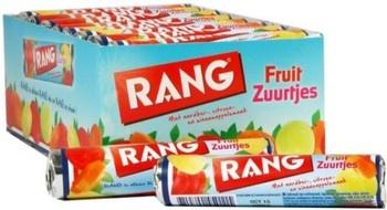Rang Rang - Rang Fruit Zuurtjes Single, 24 Rollen