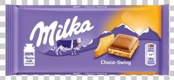 Milka Milka - 100g choco swing bisc. - 18 repen