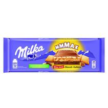 Milka - Tablet 300Gr Choco & Biscuit, 12 Tabletten