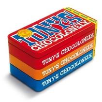Tony'S Chocolonely - Tony'S Stapelblik 3X180G, 8 Blikken