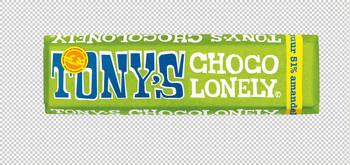 Tony's Chocolonely Tony'S Chocolonely - Reep 47G Puur Amandel Zeezout, 35 Repen