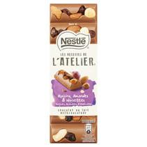 Nestlé L'atelier - melk rozijn amandel hazel.100g- 15 tabletten