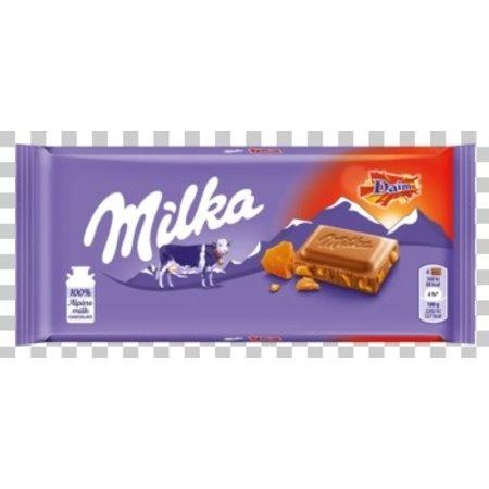 Milka Milka - Milka Daim 100G, 22 Tabletten