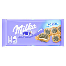 Milka - oreo sandwich 92 gr - 15 stuks