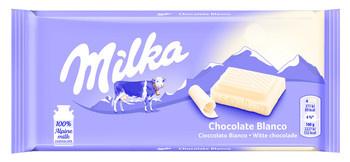 Milka Milka - Tablet 100Gr Wit, 22 Tabletten