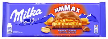 Milka Milka - Tablet 276Gr Peanut Caramel, 12 Tabletten