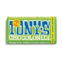 Tony's Chocolonely - 180g puur amandel zeezout- 15 repen