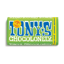 Tony'S Chocolonely - Reep 180G Puur Amandel Zeezout, 15 Repen