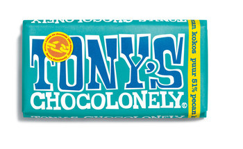 Tony's Chocolonely Tony'S Chocolonely - Reep 180G Puur Pecan Kokos, 15 Repen