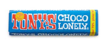 Tony's Chocolonely Tony'S Chocolonely - Reep 50G Puur, 35 Repen