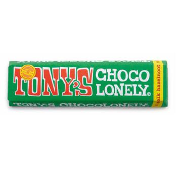 Tony's Chocolonely Tony'S Chocolonely - Reep 47G Melk Hazelnoot, 35 Repen