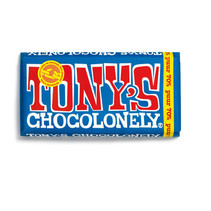 Tony's Chocolonely - 180g puur - 15 repen