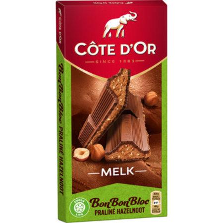 Cote D´or Cote D´or - bonbonbloc praline noot 200g - 15 tabletten