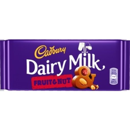 Cadbury Cadbury - Cadbury Fruit & Noot 110Gr, 18 Tabletten