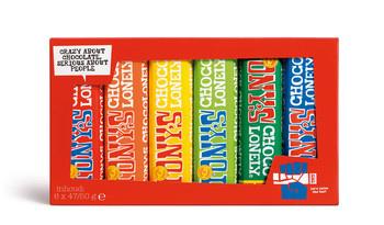 Tony's Chocolonely Tony's Chocolonely - proeverijtje klein - 12 dozen