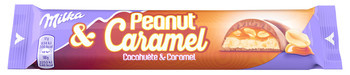Milka Milka - peanut caramel 37g - 36 stuks