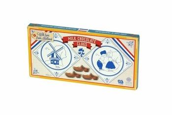 Steenland Steenland - Chocolade Klompen 90G, 24 Stuks