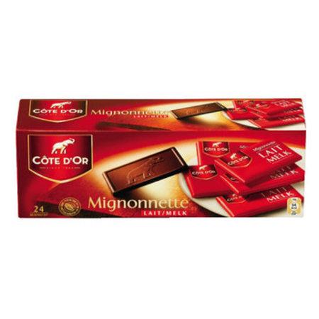 Cote D´or Cote D´or - mignonnettes 250gr melk - 12 dozen