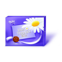 Milka - thanks 110gr - 10 tabletten