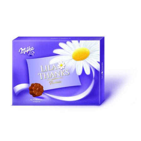 Milka Milka - Milka Thanks 110Gr, 10 Tabletten