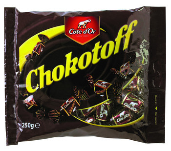 Cote D´or Cote D´Or - Chokotoff 250G, 15 Stuks
