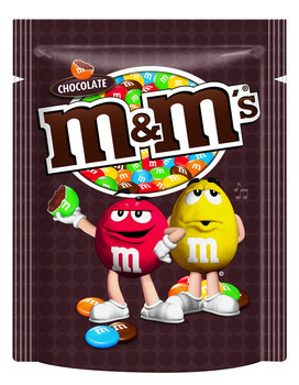 M&M M&M - M&M Choc 220G, 12 Zakken
