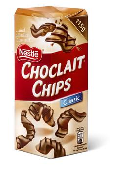Nestle Nestlé - choclait chips brown 115g - 6 stuks