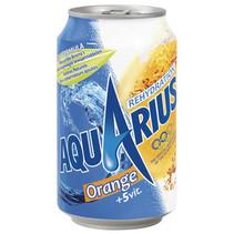 Aquarius - orange 33cl blik - 24 blikken