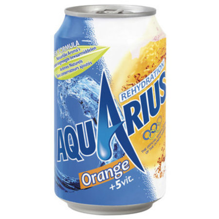 Aquarius Aquarius - orange 33cl blik - 24 blikken