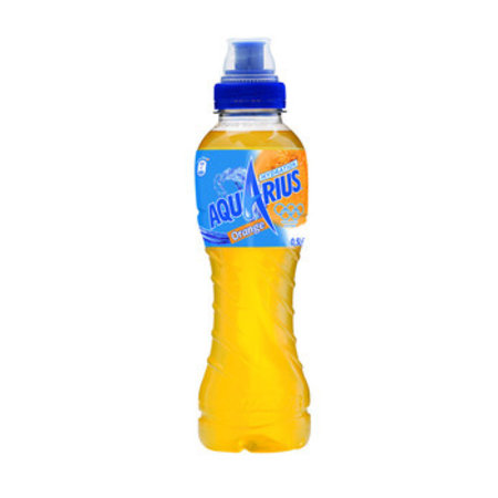 Aquarius Aquarius - orange 50cl pet - 12 flessen