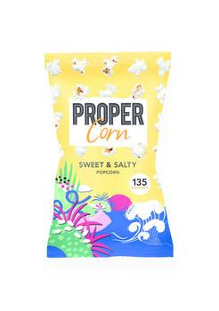 Propercorn Propercorn - propercorn-propercorn sweet & salty - 12 zakken