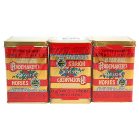 Rademaker Rademaker - Haagse Hopjes Blik 3X200G, 6 3 Pack