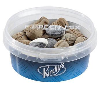 Kindley's Kindley's - fjordenmix 125g- 12 stuks