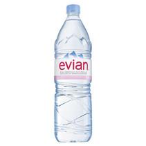 Evian - mineraalwater 1,5lt pet - 6 flessen