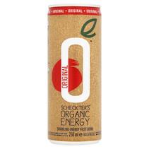 Scheckter's - bio! organic energy 25cl blik - 12 blikken