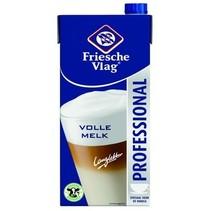 Friesche Vlag - volle melk 1lt pakken - 12 pakken
