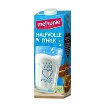 Melkunie - volle melk uht 1lt - 12 pakken