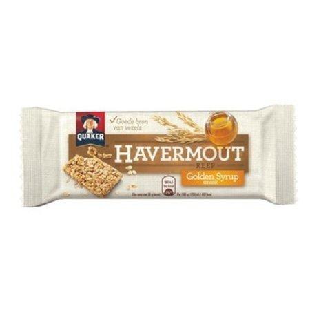 Quaker Quaker - havermoutreep golden syrup 35g- 24 repen