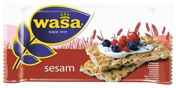 Wasa Wasa - sesam singlepack - 120 stuks